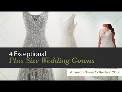 Exceptional Plus Size Wedding Gowns Amazon Gown Collection