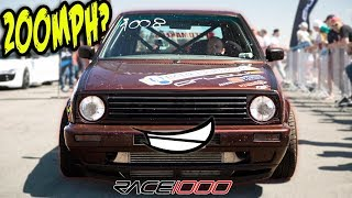 1300HP VW GTI Goes 330kmh! (AWD Turbo VR6!)