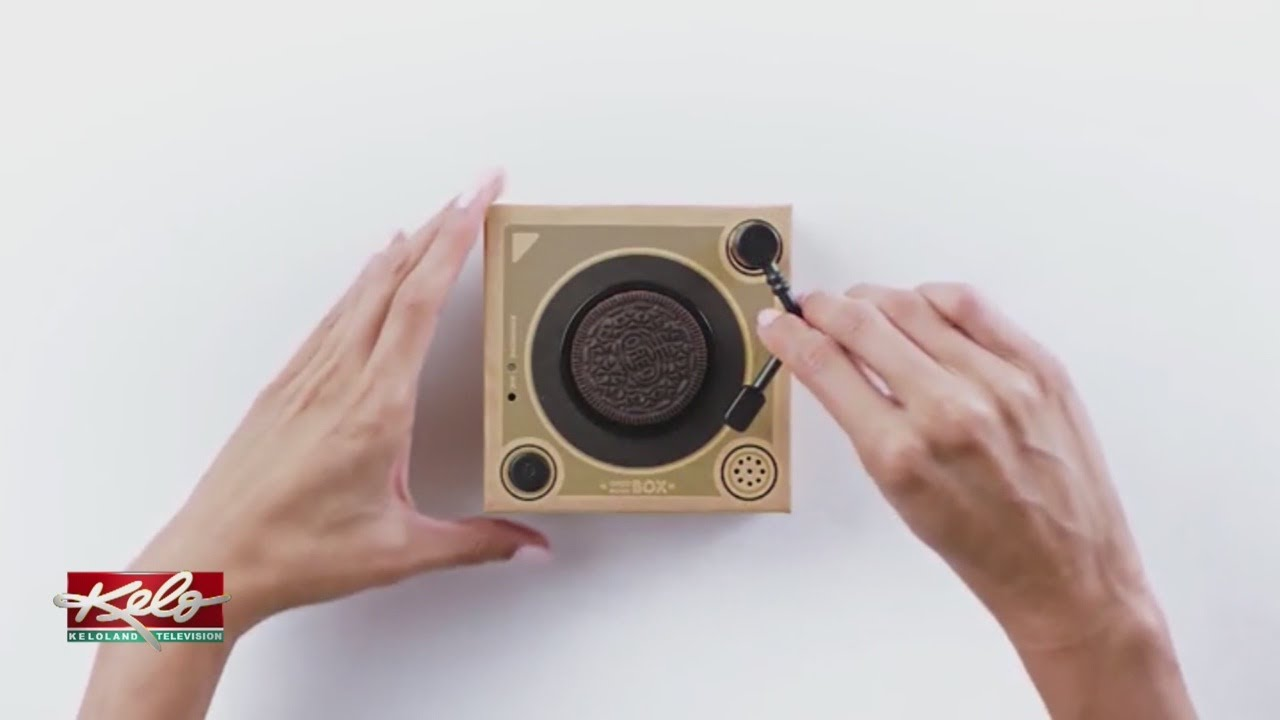 Oreo Music Box A Cookie Record Player Youtube