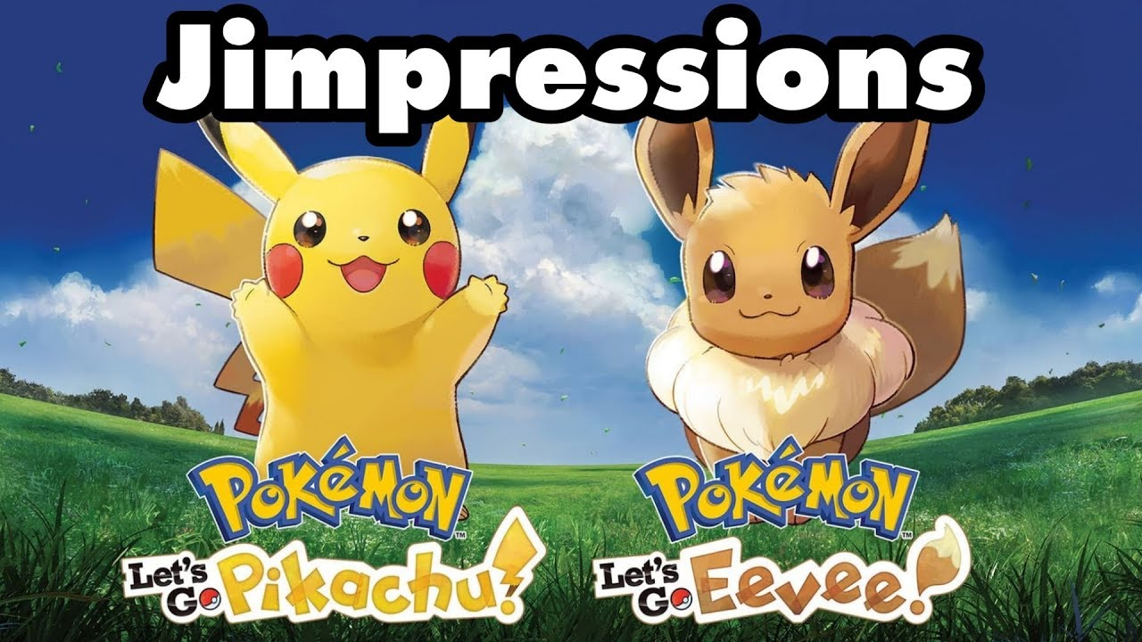 Pokemon Let S Go Pikachu Eevee Mellow Yellow Youtube