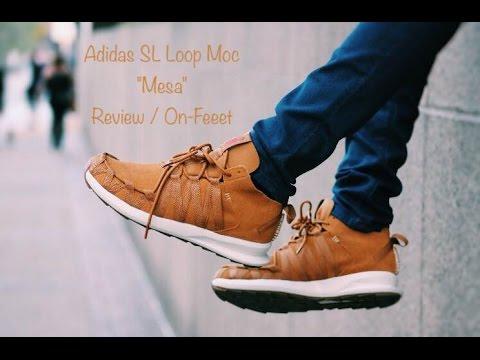 best service 0e589 65168 Adidas SL Loop Moc