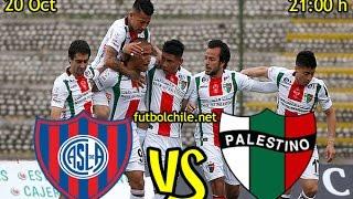 San Lorenzo vs Palestino full match