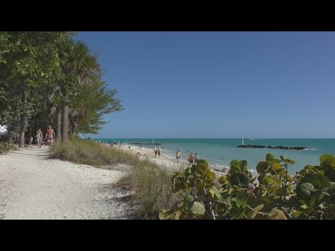Beach in Key West - Fort Zachary Taylor State Park Beach