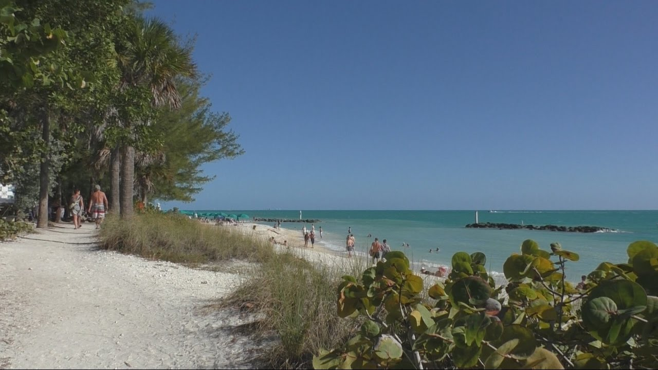Beach In Key West Fort Zachary Taylor State Park