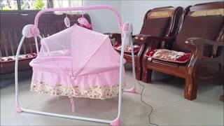 เปลไกวไฟฟ้า Electric baby cradle