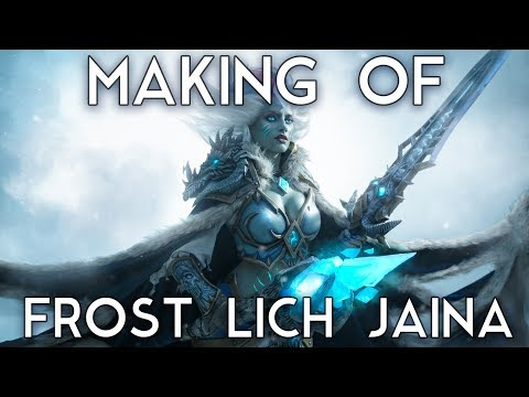 Making of Frost Lich Jaina | Hearthstone cosplay