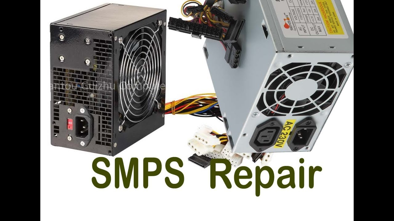 SMPS Repair in Hindi, SMPS POWER SUPPLY REPAIR Practical (input ...