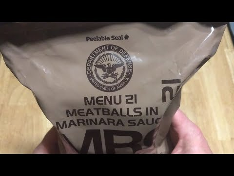 RARE 2012 US menu 21 Meatballs in marinara