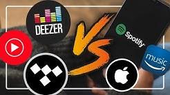 Der BESTE Musikstreaming-Anbieter 2020 - Spotify, Deezer und co. im Test