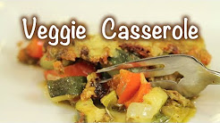 Healthy Pesto Vegetable Casserole Recipe | Rockin Robin Cooks