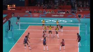Libero in Action #6 Nicole DAVIS USA