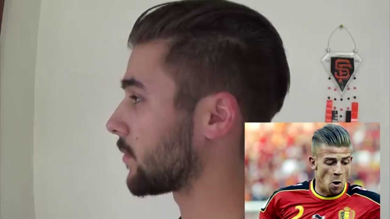 Toby Alderweireld Hairstyle Disconnected Undercut World Cup - Hairstyle undercut terbaru