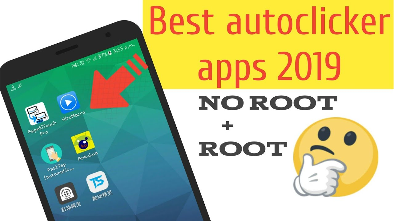Best Free auto clicker for android 2019 Root + No Root by Review Kraze