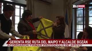 RUTA DEL MAIPO Y MUNICIPIO DE BUIN FIRMARÁN PROTOCOLO DE APOYO PARA PREVENCIÓN VIAL