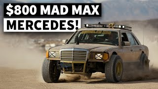 Best Sub-$800 Build Ever? Wrecked Mercedes Gets Transformed Into a Gambler 500 Hero