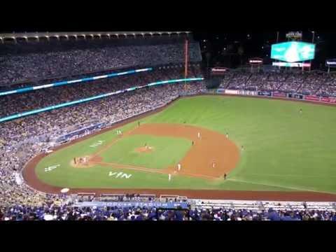 MLB LA Dodgers vs Rockies 79th Game Josh Reddick Grand Slam Plus Vin Scully Gold Coin 2016