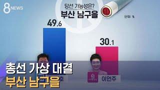 [여론조사] 민주 박재호 51.2% vs 통합 이언주 …