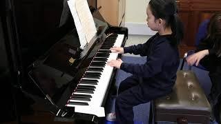 Season 1 2020, Qianyan Wu, champion of under age 6 category, London Young Musicians Award