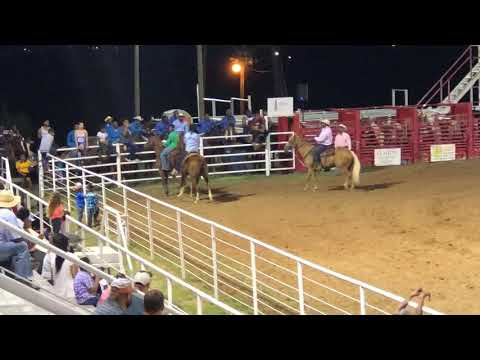 Cushing Rodeo 2018 Pony Express 1st Race
