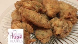 Lemon Pepper Chicken Wings | I Heart Recipes