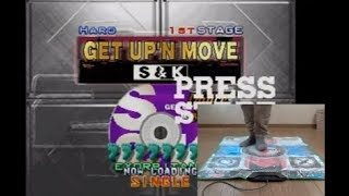 DanceDanceRevolution 2ndmix GET UP'N MOVE を踊ってみた