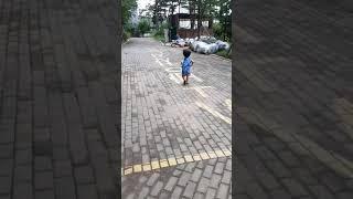 [우연] 뛰다가 바지올리기(3세)