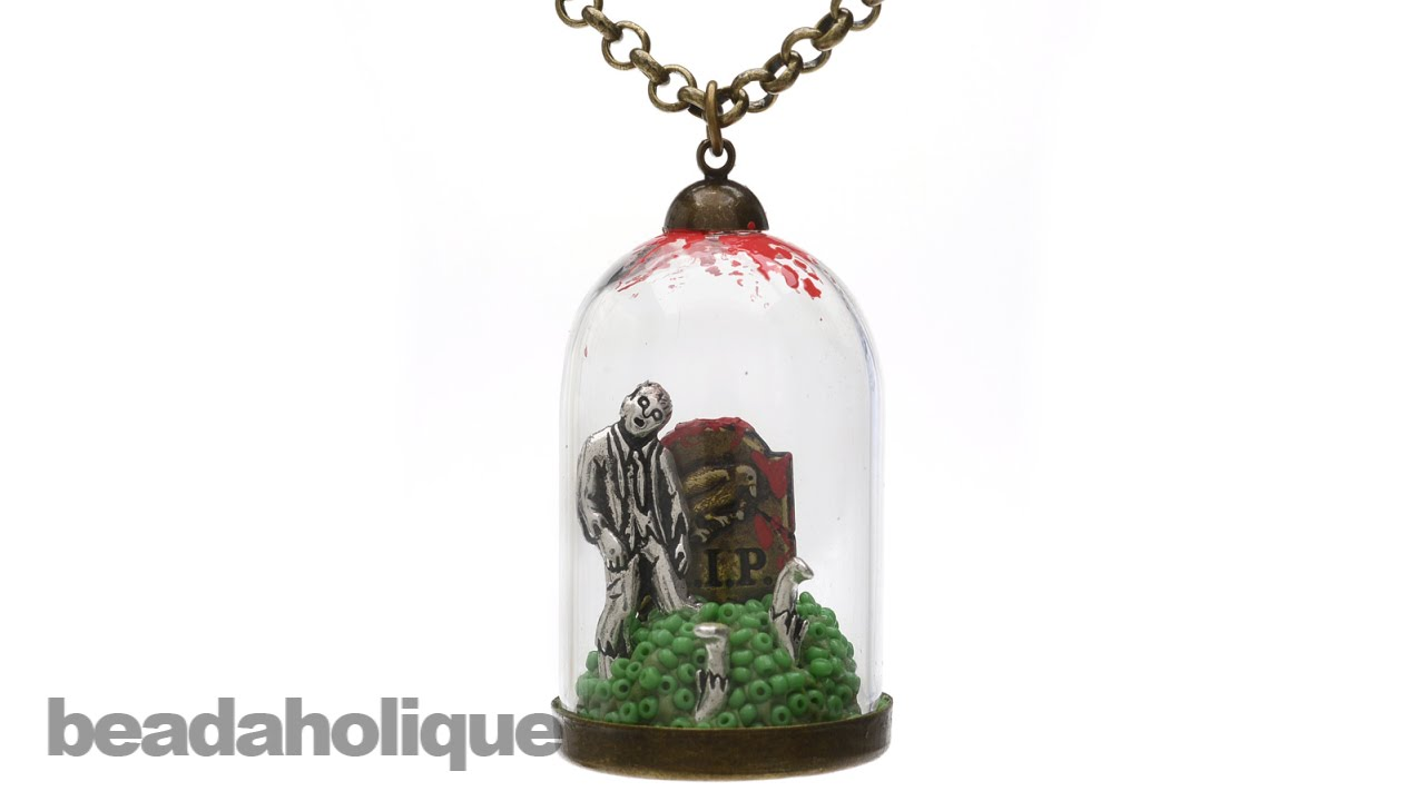 How to make the zombie glass dome pendant youtube aloadofball Image collections