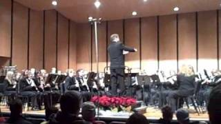 Charlotte High School Combined Symphony and Concert Bands - An American Christmas Portrait