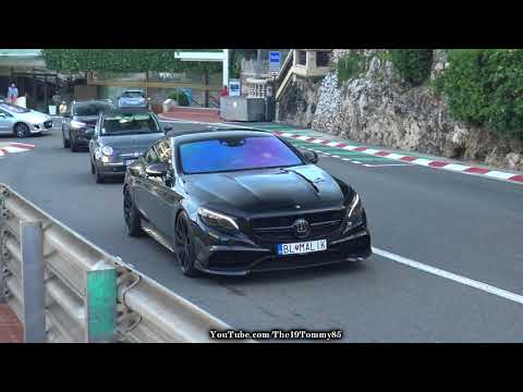 Monaco Day 1 (18.4.18) Bugatti Veryron, SLR FAB DESIGN, 812 Superfast etc.