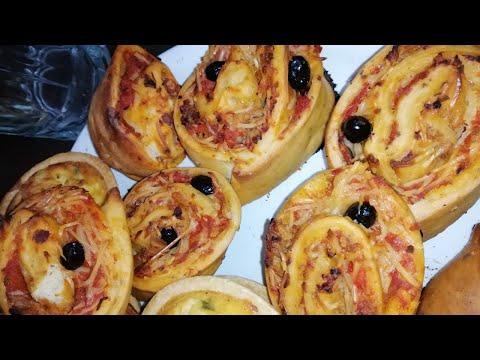 بيتزا-رولي-بعجينة-قطنية-لذيذة-جدااا-|-pizza-roulée-|-pizza-rolls
