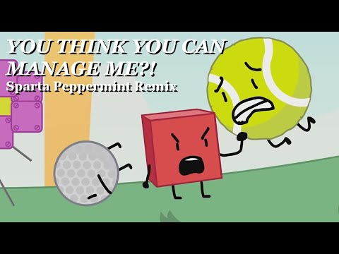 Blocky  You think you can manage me!? Sparta Peppermint Remix