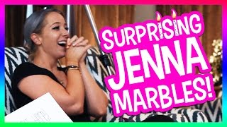 Surprising Jenna Marbles!