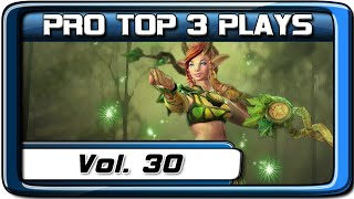 PRO TOP 3 PLAYS #30 | ayo / Funn1k / MP | Dota 2
