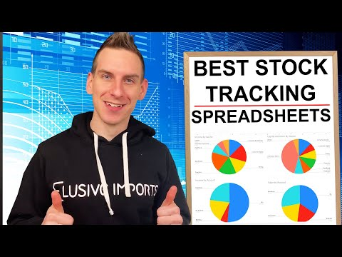 Best Stock Tracking Spreadsheet Review - For Dividends & Passive Income