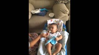 Baby refuses to drink water