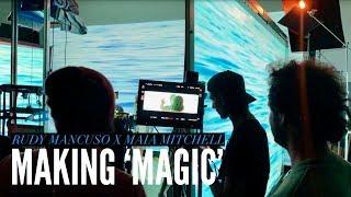 MAKING MAGIC   RUDY MANCUSO X MAIA MITCHELL (VERTICAL VLOG)