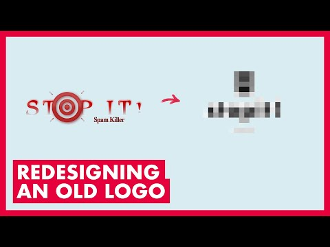 Watch Me Redesign a TERRIBLE Old Logo - Ep. 1 thumbnail
