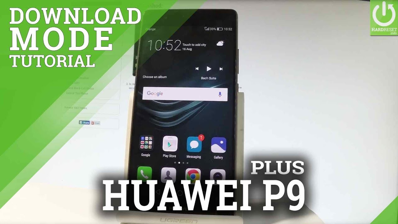 how to enter download mode huawei phone
