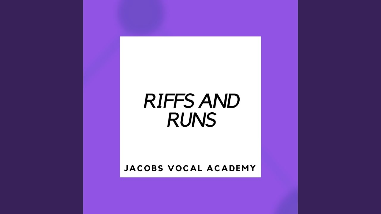 Download Riffs and Runs #3 (Easy) - Vocal Exercise