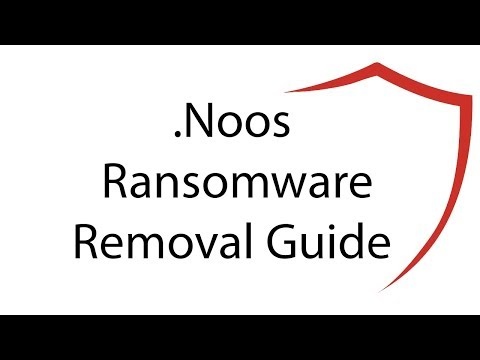 .Noos Virus File Ransomware Removal + Restore