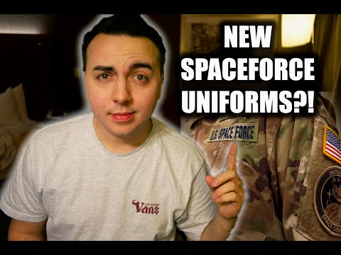 OUTRAGE OVER NEW CONFIRMED SPACE FORCE UNIFORMS?!