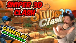 Jungle Beast is Playing Sniper Clash 3D