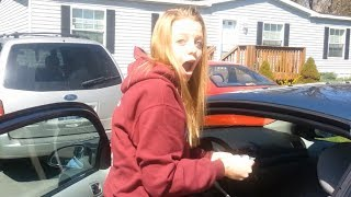 Teen Surprised With A Car For Her Birthday