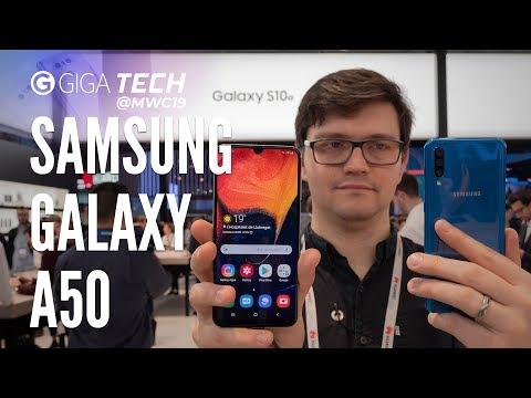SAMSUNG GALAXY A50 im Hands-On (deutsch): Galaxy S10 Plus für Vernünftige – GIGA.DE