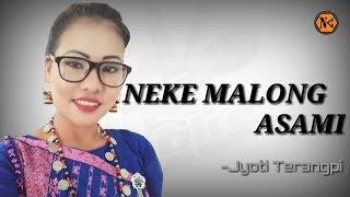 Neke Malong Asami |Jyoti Terangpi|Official Song|Latest Karbi Song 2018
