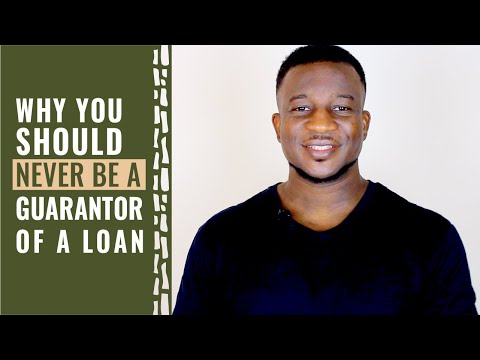 Why You Should Never Be A Guarantor Of A Loan