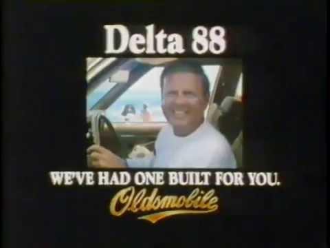 Dick Van Patten 1981 Olsdmobile Delta 88 Commercial