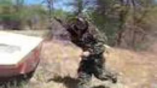 Gambar cover Hmong Paintball TACAMO T68D AK 47 firing