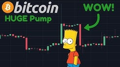 BITCOIN HUGE PUMP!!! Wedge Broke Out As Predicted!!   $1,000,000,000 Transacted For $6!!!