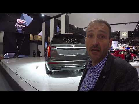2020 Cadillac XT6 - First Video Walk around at NAIAS 2019 in Detroit